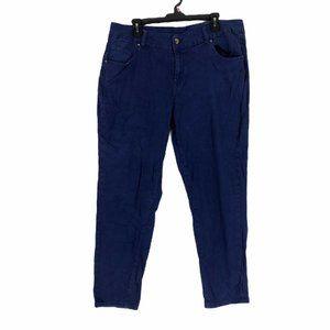 Lane Bryant Blue Straight Leg Denim Jeans Size 18